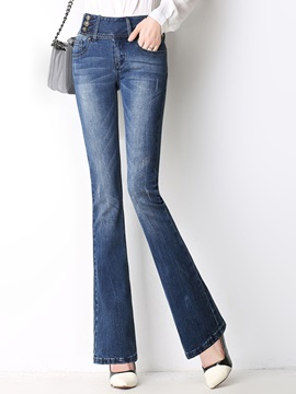 Denim Slim High Waist Jeans
