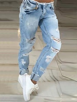 Ripped Worn Out Jeans
