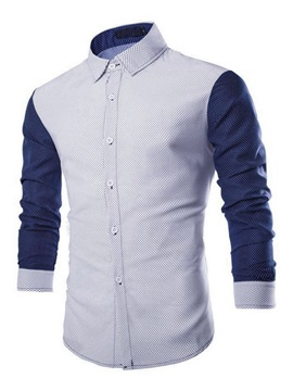 Slim Fit Long Sleeve Print Shirt