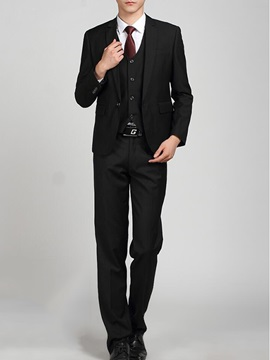 Solid Color Men's Business Suits