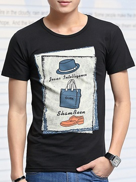 Cartoons Printed Men's T-shirt