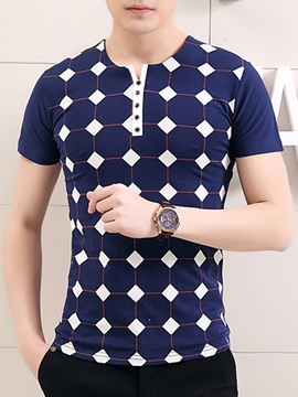 Lattice Men's Short Sleeve Tee