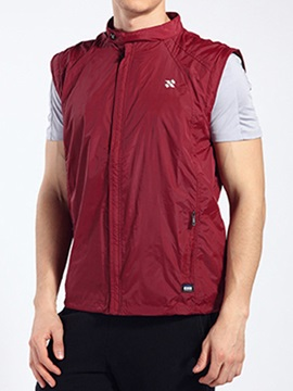 Dacron Chest Print Men's Sports Vest