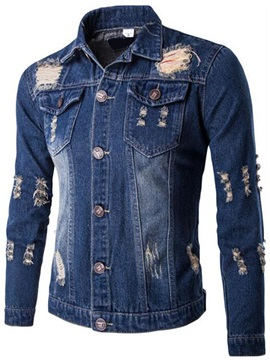 Warn Medium Wash Men's Denim Jacket