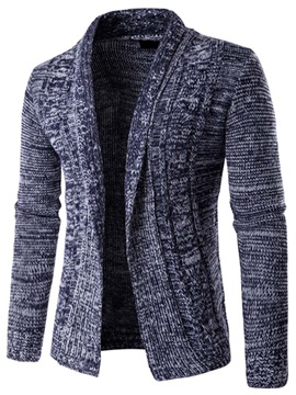 Turn Down Collar Causal Men's Cardigan Sweater
