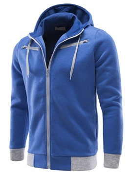 Two-tone Men's Long Sleeve Hoodie