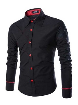 Fashion Slim Fit Long Sleeve Shirt