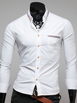 Chest Pocket Patched Regular Fit Men's Shirt