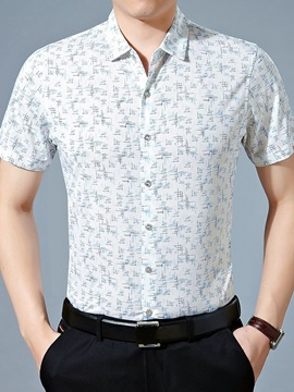 Florals Men's Short Sleeve Shirt
