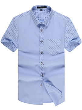 Casual Men's Short Sleeve Shirt