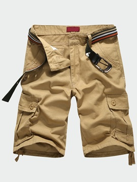 Pockets Design Loose Fit Men's Casual Shorts