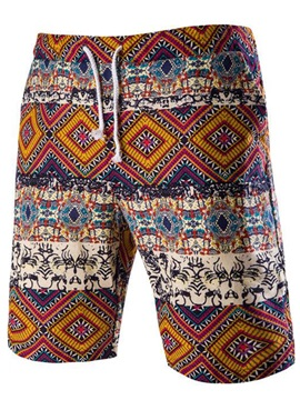 Floral Relaxed Men's Casual Shorts