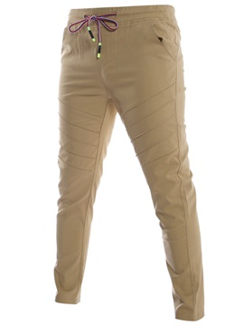 Solid Color Winkle Men's Causal Pants