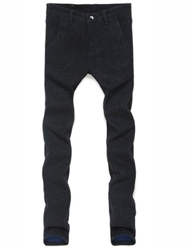Slim Fit Causal Men's Straight Pants