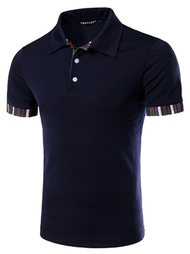 Regular Fit Short Sleeve Men's Casual Tee