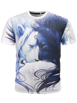 Vogue Animal Print Men's Tee