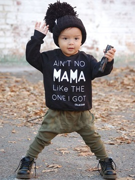 Vogue Lettered T-Shirt & Plain Pant Baby's Outfit