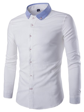 Oxford Casual Long Sleeve Men's Shirt