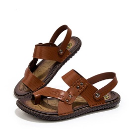 PU Ring-Toe Antiskid Beach Sandals
