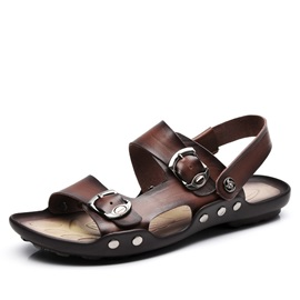 British Buckles Men's Beach Sandals