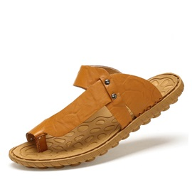 PU Ring-Toe Men's Sandals