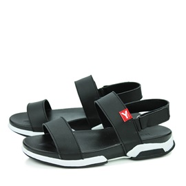 PU Velcro Men's Open-Toe Sandals