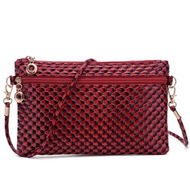 Lastest Embossed Patent Leather Shoulder Bag