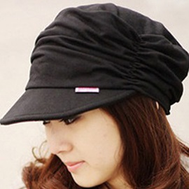 Charming Pleated Cotton Women Hat