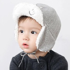 Crown Design Thicken Earmuffs Kid's Hat