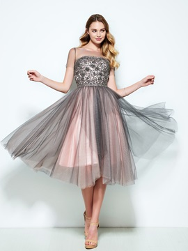 Sheer Neck Short Sleeves Appliques Beading Homecoming Dress & Designer Dresses 2012