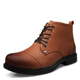 Brush-Off Nubuck Lace-Up Ankle Boots