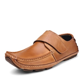 Thread PU Velcro Men's Loafers