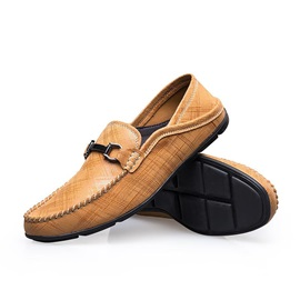 Thread PU Slip-On Men's Loafers