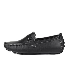 PU Thread Warm Lining Men's Loafers