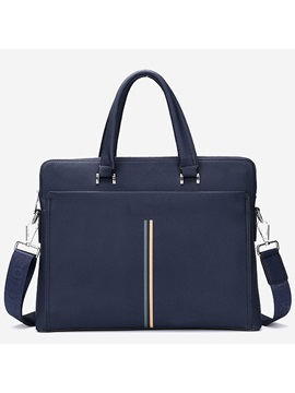 Zipper Letter Men Handbag