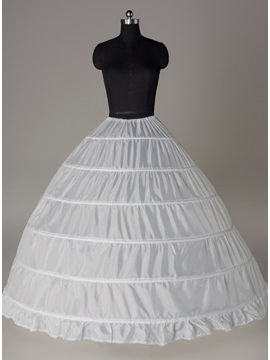 High Quality Ball Gown Six Steel Loops Wedding Petticoat & Faster Shipping Sale online