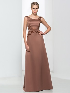 Classy Straps Embroidery Beading Long Evening Dress & Faster Shipping Sale for sale
