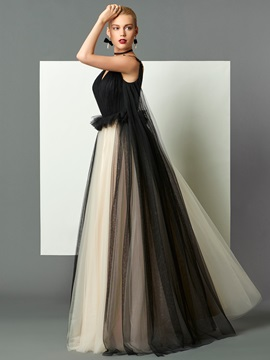 Unique A-Line V-Neck Ruched Backless Sweep Train Evening Dress & Faster Shipping Sale from china