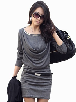 Fine Premier Slim Long Sleeve Dress