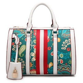 High Quality with Pattern Satchel for Women