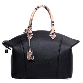 Elegant Thread Zipper Women Satchel