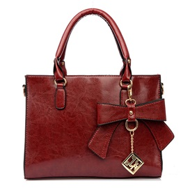 Cute Bowknot Decorated Women's Handbag