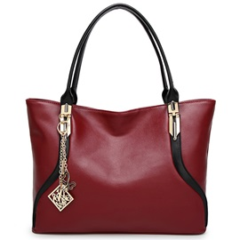 Europeamerica Simple Thread Decorated Women Satchel