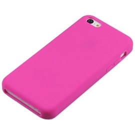 Solid Color Protection Silicone Back Cover Case Design Pattern For iPhone 5/5S/SE
