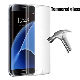 Anti-Fingerprints Tempered Glass Curved Surface Screen For Samsung Galaxy S7 Edge/S7/S6 Edge+/S6 Edge