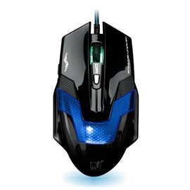 Black 2400DPI Photoelectricity USB Wired Mouse
