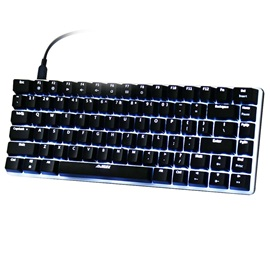 AJAZZ AK33 Portable Mechanical Green Axis Keyboard with Backlight