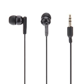 Black In-Ear Earphone with Noise Reduction