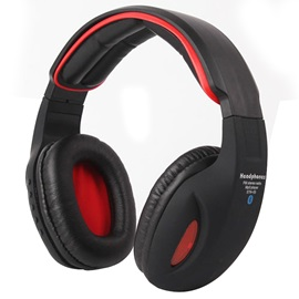 Bluetooth Lighten Stereo Headphone Support FM TF Cards
