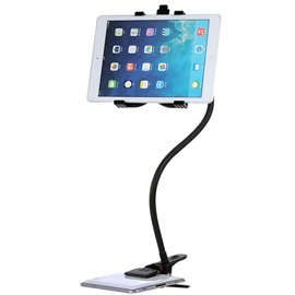 Rotating 360 Degree Flexible Arm Universal Mobile Phone Holder Stand Lazy People Bedside Bracket Tablet for iPad
